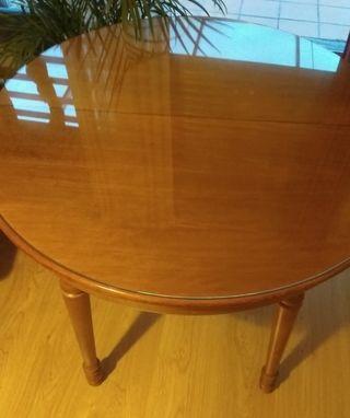 mesa madera maciza 80cm