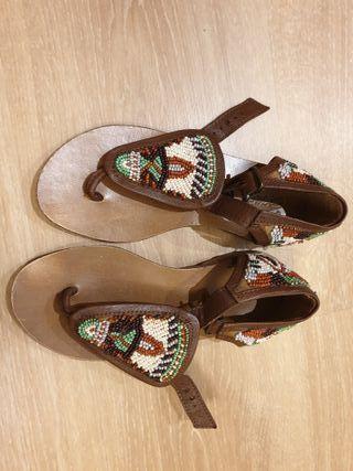 Sandalias de niña Zara Talla 30