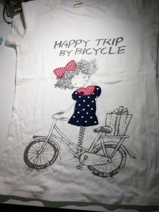 Camiseta Vintage, talla M
