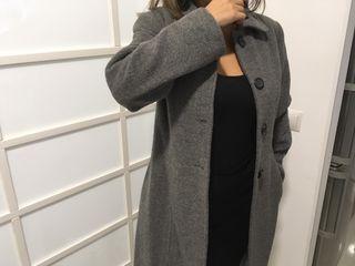 Abrigo gris lana alpaca