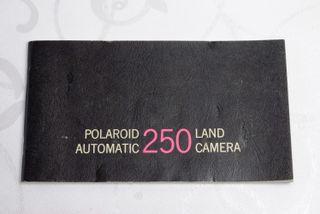 POLAROID 250 LAND CAMERA MANUAL INSTRUCCIONES
