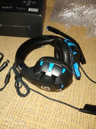 cascos auriculares con micrófono