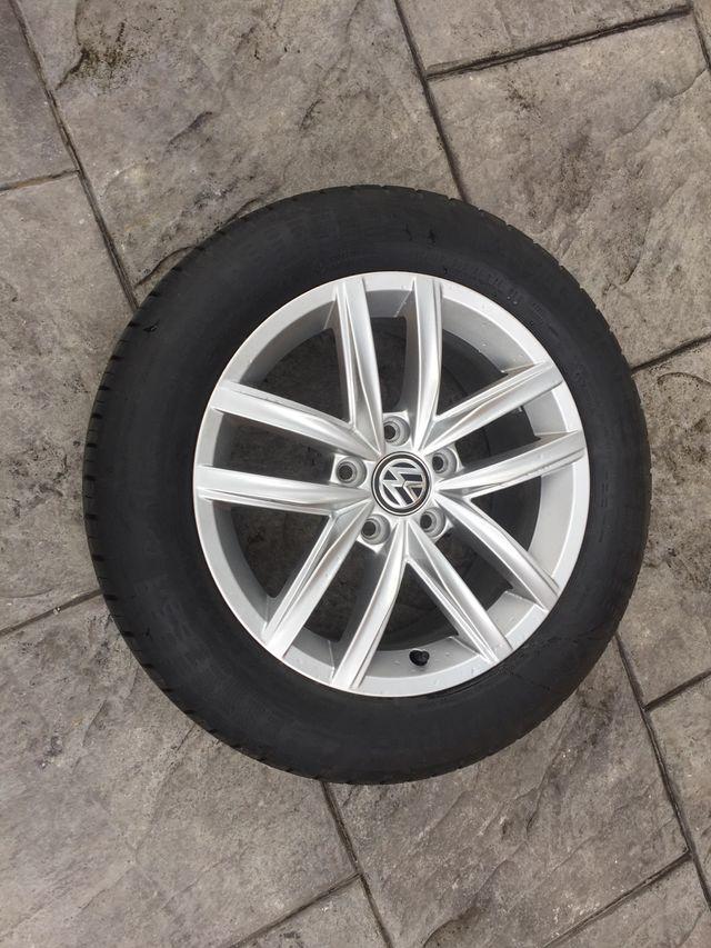 Llantas golf VII con neumático. Nuevas