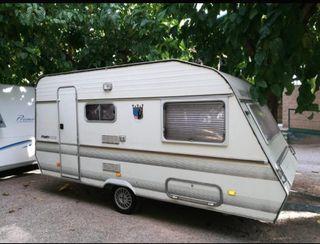 caravana menos de 750 kg con ficha verde