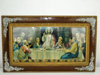 Cuadro de la santa Cena años 50-60