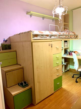 GANGA Facil Mobel habitación juvenil compacta