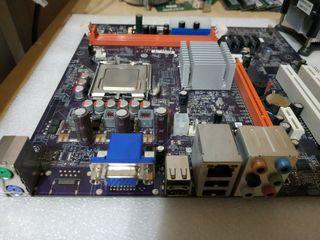 Placa 775 + 4Gb + procesador + disipador