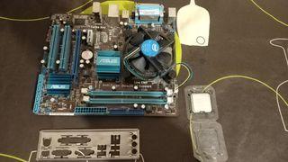 placa base Asus + procesador Intel Xeon