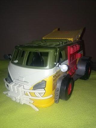 camión tortuga ninja