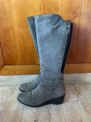 botas altas stonefly gris