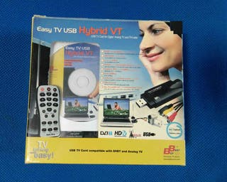 Sintonizador Capturadora TV Hybrid USB