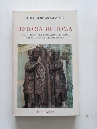 Historia de Roma, Theodor Mommsen