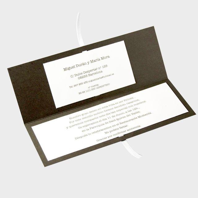 Pack 150 invitaciones de boda