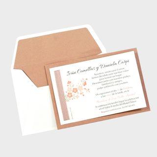 Pack 100 invitaciones de boda