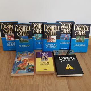 Colección libros Danielle Steel