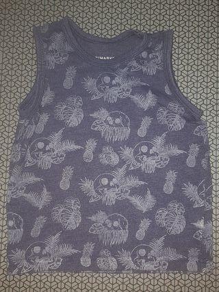 camiseta niño tirantes