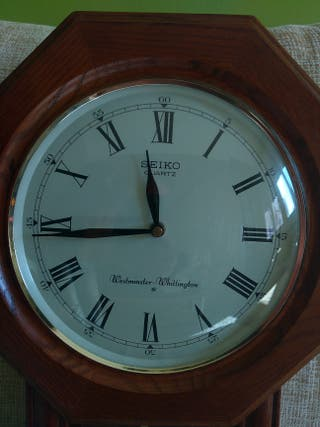 Seiko quartz reloj pared