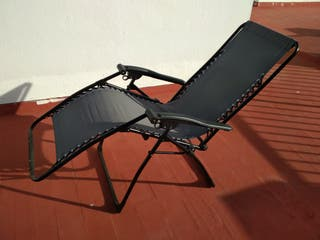 Tumbona / sillón de jardín del Lidl