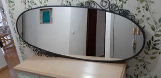 Espejo ovalado Ikea