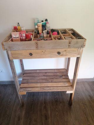 Mueble estilo tocador rustico(pallet)
