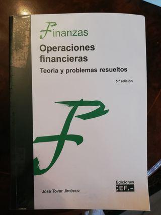 Operaciones Financieras. Teoría y problemas resuel