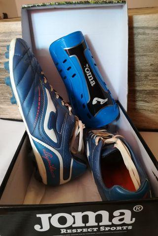 botas fútbol - talla 43 - marca JOMA