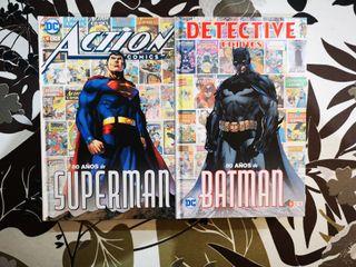 PACK ACTION COMICS: 80 AÑOS SUPERMAN+BATMAN