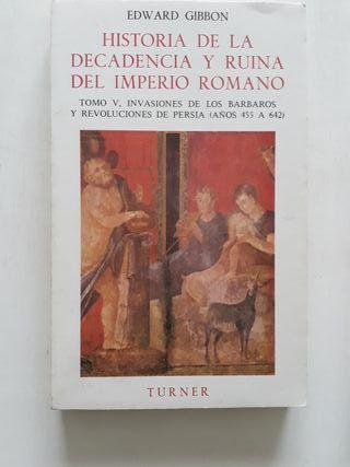 Historia de la decadencia del Imperio Romano