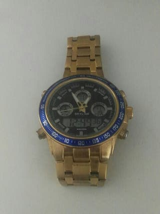 Reloj hombre, Dorado