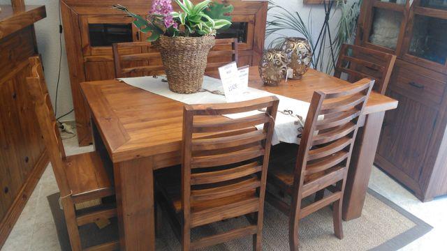 Mesa Comedor Rustica madera