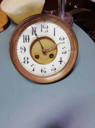 maquinaria de reloj s. XIX