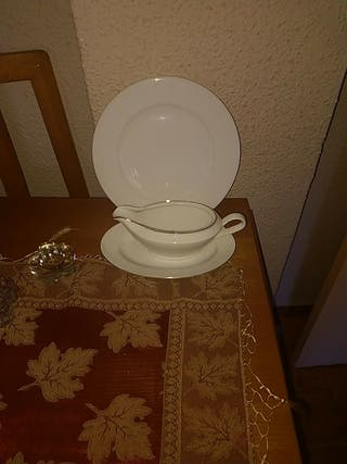 vajilla Nm de porcelana