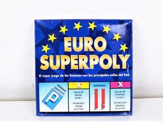 Juego de mesa Euro Superpoly de falomir