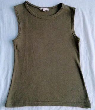 Camiseta básica estilo militar