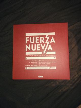 LP disco numerado FUERZA NUEVA vinilo