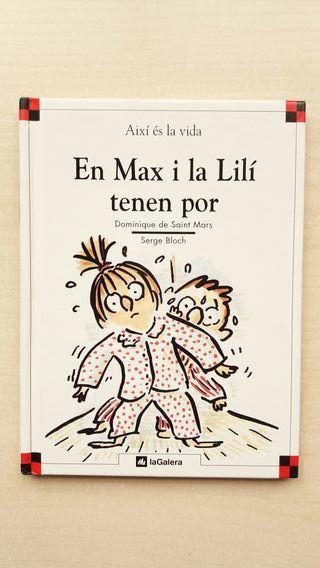 Libro En Max i la Lilí tenen por. Saint Mars.