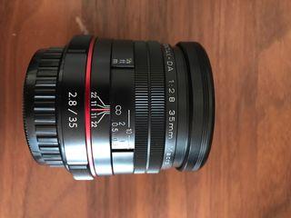 Objetivo Pentax 35mm HD Macro f/2,8