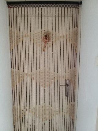 cortina de la puerta