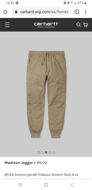 Pantalon Carhartt Jogger