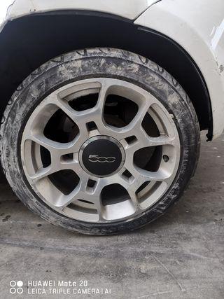 """JUEGO DE LLANTAS EN 16"""" FIAT 500"""