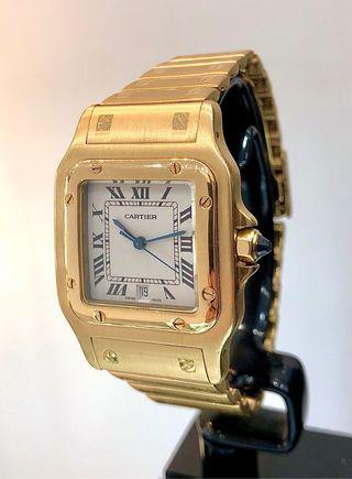 Reloj Cartier Santos.Caballero/Unisex.Oro18kt.FULL