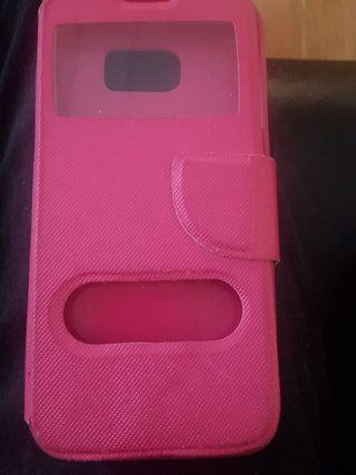 funda rosa s7 edge