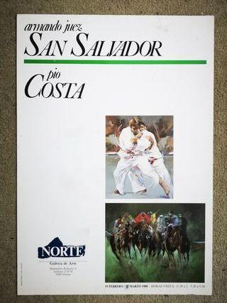 Cartel exposición de San Salvador y Costa Oviedo88
