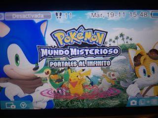 Pokémon Mundo Misterioso Portales al Infinito