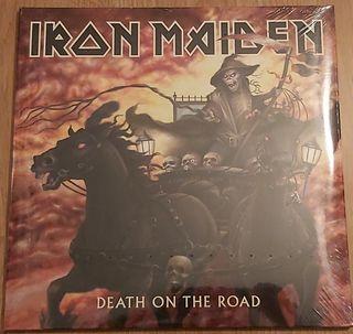 Iron Maiden - Death on the road vinilo