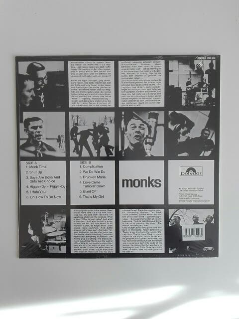 disco vinilo Monks - Black monk time