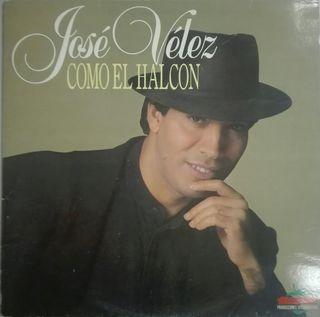 José Vélez. Como el halcón- Vinilo LP.