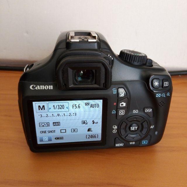 Cámara de fotos digital reflex Canon objetivo dslr