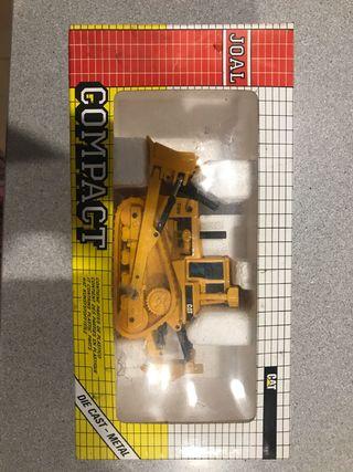 Miniatura de máquinas de construcción. Años 80