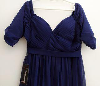 Vestido Nuevo elegante azul marino